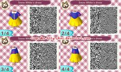 QR Code: Snow White's Dress by Cupcake-Kitty-chan on DeviantArt