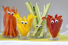 A fun twist on a veggie tray!