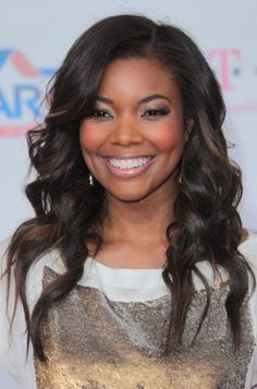 Gabrielle Union wows with wavy hairstyle