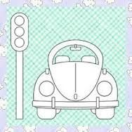 Image result for vw beetle template printable simple front