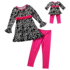 Dollie   Me Girl 3-14 and Doll Matching Dress Outfit Clothes fit American  Girl e9beb3686
