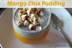 The Aspiring Home Cook: Mango Chia Pudding