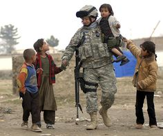 .American Soldiers Carry The World