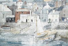 The slipway, St. Ives by George Hammond Steel