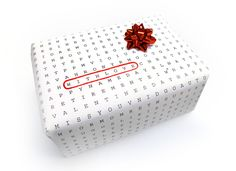 Wordless paper, a universal wrapping paper for any occasion