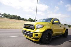 Best looking tundra I've ever seen. Nicely done #trd #toyota #tundra…