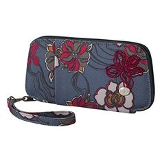 Haiku Womens Fortitude Eco Clutch Wallet River Floral Print * Check out the image by visiting the link. (This is an affiliate link) Day Backpacks, Outdoor Backpacks, Disney Tees, Camping And Hiking, Band Shirts, Elite Socks, Haiku, Clutch Wallet, Zip Around Wallet