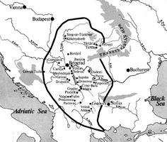 Vinca culture  - The map of Tordos (Turdas) - The Vinča culture is a Neolithic archaeological culture in Southeastern Europe, dated to the period 5500–4500 BCE.