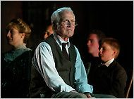 Paul Newman as the Stage Manager in a 2002 production of 'Our Town. Theatre Stage, Theater, Helen Hunt, Our Town, Paul Newman, Director, Ny Times, Language Arts, Plays