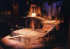 "Britt Theater ""A Christmas Carol"" Scenic artist, scenic construction"