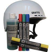 Cheap Graffiti Helmets Customizable Bike and Skateboard Helmets sale
