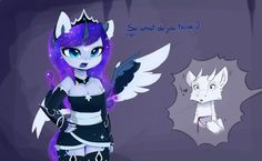 now I have an official anthro design for my AU Luna Next is Twi and Tia! oh Luna My Little Pony Cartoon, My Little Pony Drawing, My Little Pony Pictures, Nightmare Moon, Mlp Fan Art, Anime Fnaf, Unicorn Art, Mlp Pony, Anthro Furry
