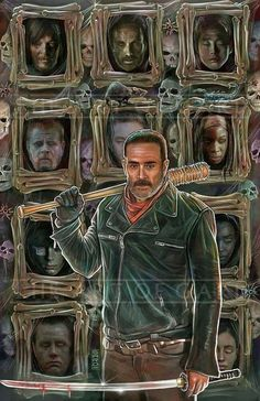 TWD Art with GOT twist. My 2 fave shows