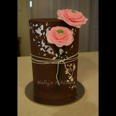 Double Barrel Birthday Cake by Kelly Stevens