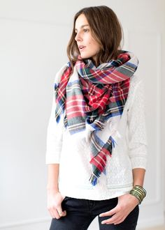 Sézane - Irish scarf