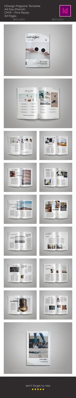 Retrospec Magazine Template