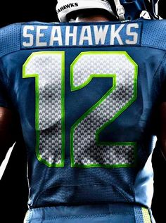 Seattle Seahawks 12th Man. Go Hawks!