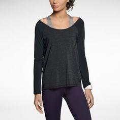 Nike Luxe Cool Touch Long-Sleeve Women's Running Shirt