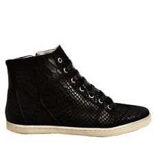 Adele Sneaker Black, £103, now featured on Fab.