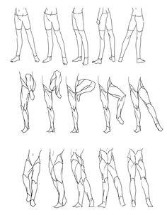 "Anatomi Bacaklar 4 / Anatomy Legs 4 - ""Legs Movement/Rotation"" (Part1) Reference…"