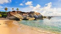 Not ready for the fall weather? Head to one of the top Caribbean islands.  British Virgin Islands: Readers' Choice Rating: 78.2