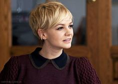 Inspiration hair cut two: carey mulligan pixie