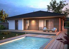 Pool Landscaping, Backyard Pools, Pool Decks, Natural Swimming Pools, Natural Pools, Lap Pools, Indoor Pools, Small Pools, Dream Pools