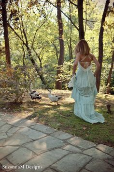 Lace Bohemian Wedding Dress Boho Bridal Dress by SuzannaMDesigns, €680.00