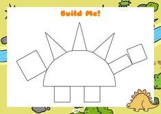 Dinosaurs Preschool, Dinosaur Activities, Dinosaur Crafts, Preschool Activities, Preschool Lessons, Dino Craft, Nursery Activities, Kids Schedule, Activities For Kids