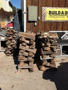 Fire Wood for these cold days at McDonnell Hardware & Feed. mcdonnellfeed.com