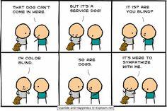 It's a service dog!!