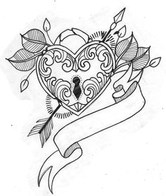 Heart Locket Tattoos | tumblr_n3rtrkDRQe1r2m8ojo1_500.jpg