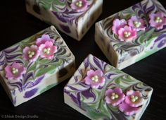 Ume Blossom Handmade Cold Process Oatmeal by ShiehDesignStudio