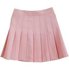 Women School Uniforms plaid Pleated Mini Skirt (239.555 IDR) ❤ liked on Polyvore featuring skirts, mini skirts, bottoms, short skirts, mini skirt, plaid miniskirts, pink pleated skirt and pink mini skirt