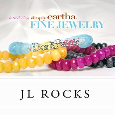 #Simply Eartha Fine Jewelry @JLROCKS Westport 203-454-4541 LOVE-LOVE-LOVE -Fabulous stackable gifts for the Holidays