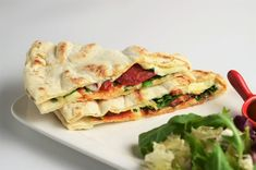 7 Idei pentru pachetelul de la scoala - piadine Lidl, Spanakopita, Mozzarella, Sandwiches, Ethnic Recipes, Paninis