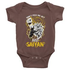 Super Saiyan Goku Dragon Fist Infant short sleeve one-piece Shirt - PF00036BO