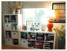 Storage Ideas for Small Spaces With Decorative Lighting