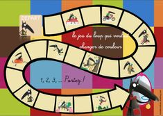 jeu du loup qui voulait changer de couleur Core French, French Class, Album Jeunesse, Math Games, Maths, Teaching French, Brain Teasers, Wolf, Montessori