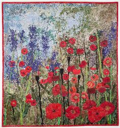 Love Poppies and LOVE Anne's work!