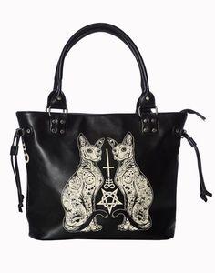 Sourpuss Hobo Lust For Skulls Purse Punk Rock Goth Tattoo 50S Retro Handbag