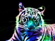 Коллекция картинок: Фрактальные образы животных