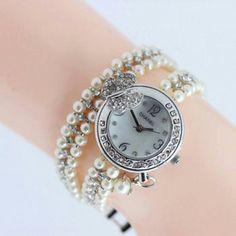 Pearl Bracelets (J-65) Rp. 220.000,-  http://rumahbrand.com/jam-tangan-…/1072-pearl-bracelets.html