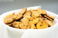 Chicche di Kika: Mini crackers alla farina di ceci