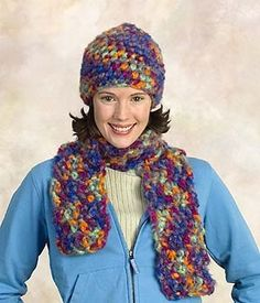 Image of Hat & Scarf