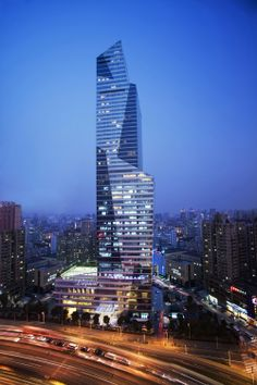 Shanghai Longemont Hotel , Shanghai-China;  218.0 m 53 fl; completion 2005