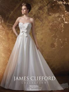 James Clifford Wedding Dress and Couture Bridal Gown Collection | Bridal Reflections