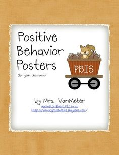 This freebie includes four PBIS Behavior posters.Be RespectfulBe ResponsibleBe PreparedBe Your BestBe SafeThank you for downloading thi...