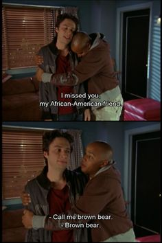 Best bromance in the history of bromances.