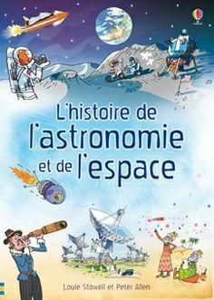 L'histoire de l'astronomie et de l'espace couv